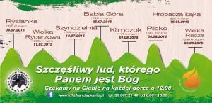 Ewangelizacja w Beskidach 2015